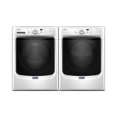 Maytag MHW3500FW-YMED3500FW Washer and Dryer Set