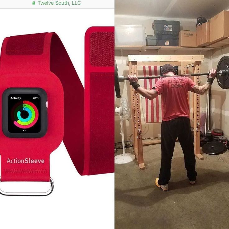 Hands on with #ActionSleeve! #Repost @chrismbauer  Tonight I took the #twelvesouth #actionsleeve for a test spin. I was amazed at how this thing works for #crossfit #applewatch normally I would wear my watch on my wrist and use my wrist wraps over the watch. This made for crappy heartrate samples and calories burned was always off with wrist based HRM. But this sleeve solves that and you simply snap the Apple Watch into the sleeve and wrap it around your bicep and the readings are so much…