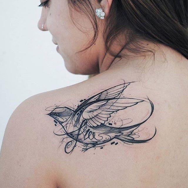 65 tatouages oiseaux magnifiques et inspirants – #culture #inspirante #très #tatto …
