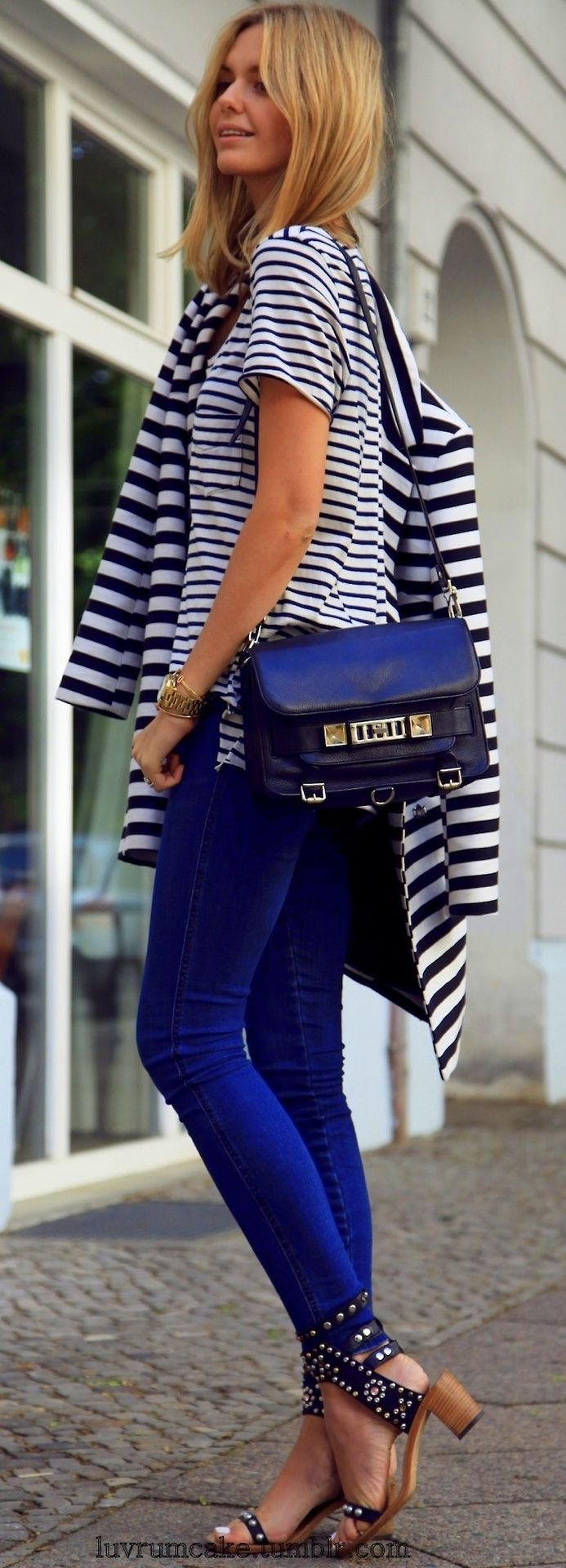 My style late summer ~ early fall ~ Stripes & Isabel Marat