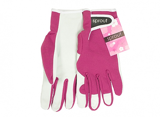 Sprout Goatskin Gloves in pink of course!!!