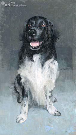 #Stabyhoun ~ Schilder: Pieter Pander uit Franeker (2004) | Schilderijen & tekeningen - Fotogallery NVSW