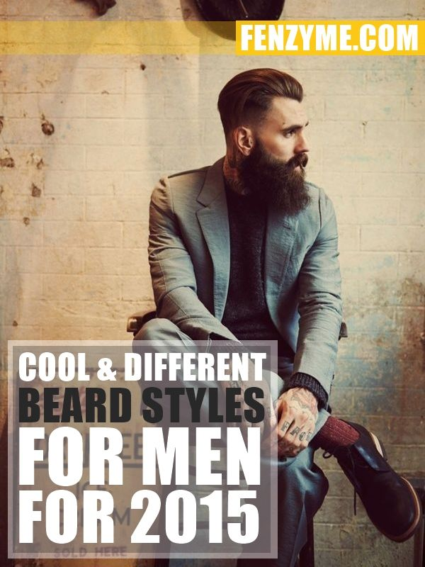 Cool and Different Beard Styles for Men for 20151.1