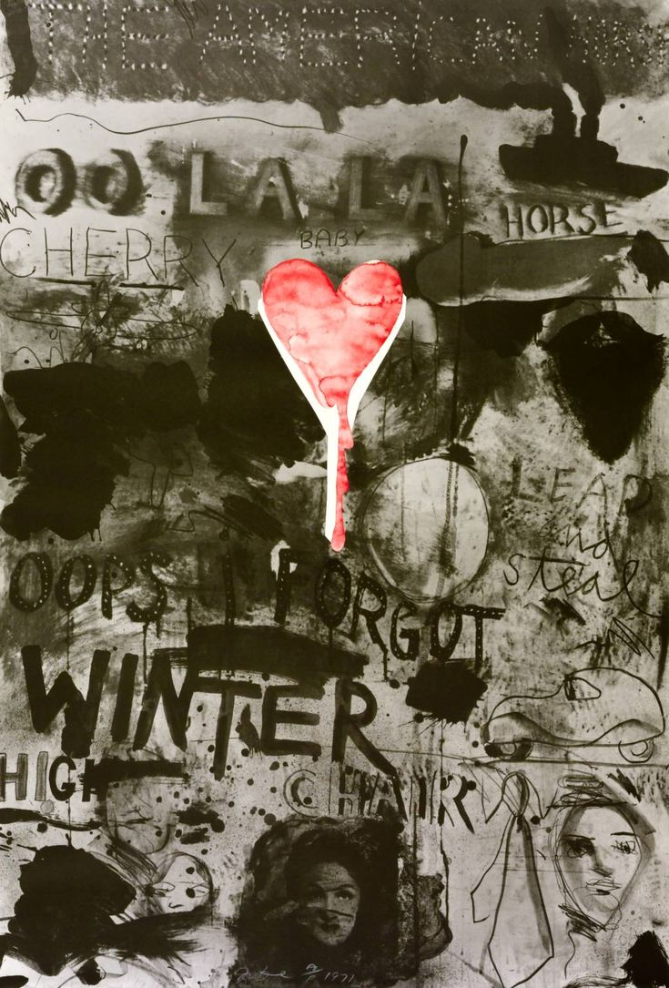 Jim Dine  Picabia II (Forgot)