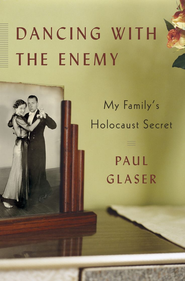 """Dancing with the Enemy - """"Raised in a Catholic family in the Netherlands, Paul Glaser was shocked to learn as an adult of his father's Jewish heritage. In Dancing With the Enemy, Glaser recounts his discovery of what happened to his family during World War II—and tells the remarkable story of his estranged aunt Rosie."""