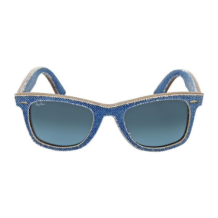 Ray Ban Original Wayfarer Denim Blue Gradient Sunglasses RB2140F 11644M 52. Original Wayfarer Denim.