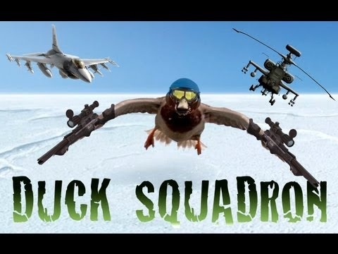 "Duck Squadron: (Make sure your speakers are on so you can hear all the action!)  This aviation squadron is a classified unit comprising of combat ducks!  Some of the combat ducks land perfectly but others haven't got the same skill and experience. The squadron is led by Wing Commander 'Mr. Quack', formerly a member of the US Air Force.    Music: ""National Day"" by Jon Brooks.  Sound Design: Jon Brooks  YouTube Channel: http://www.youtube.com/jonbrookscomposer  Website…"