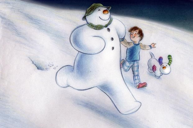 *THE SNOWMAN ~ and the Snowdog