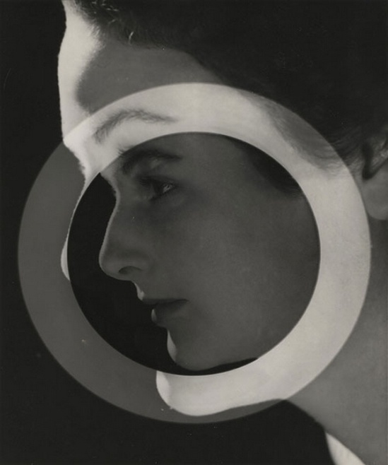 Max Dupain -Portrait With Circle, 1930s