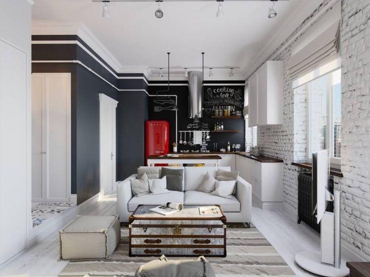 Im genes de decoraci n y dise o de interiores deco for Diseno de interiores estilo industrial