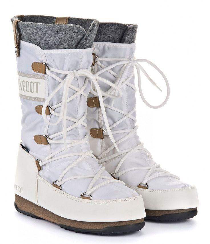 boty Tecnica Moon Boot W.E. Monaco Felt - White - Snowboard shop, skateshop - blackcomb.cz