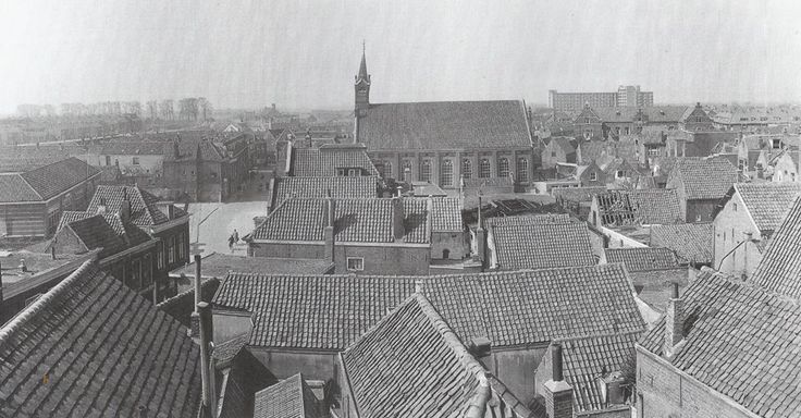 Panoramafoto West Nieuwland 1950