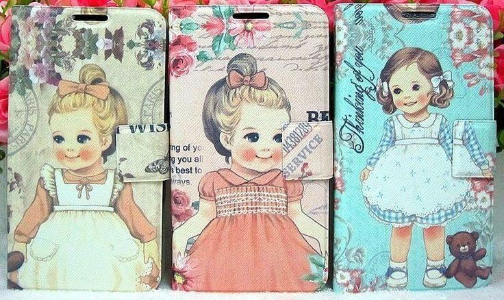 Paper Doll. Estas muñequitas tipo antiguas, no nos pueden gustar más y fundas como estas para móviles nos las piden todos los días. www.twcshop.com