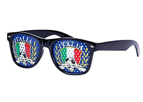Lunettes à grille à trous Design Drapeau France Italie Espagne Russie pays  coupe du monde football 801b36ec1b5d