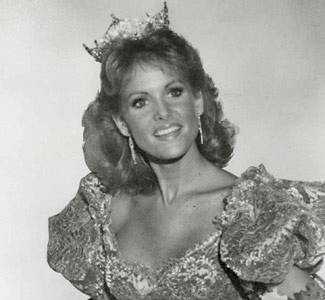 Miss America 1983  Then: Debra Maffett  had been in TV.