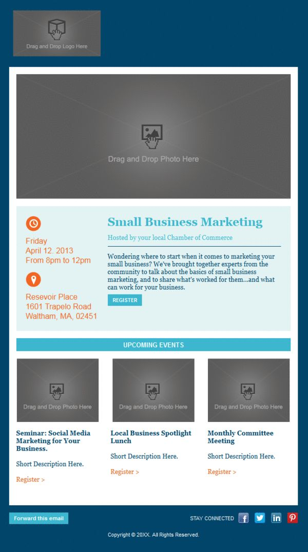 9 best Constant Contact images on Pinterest Email marketing - email marketing sample