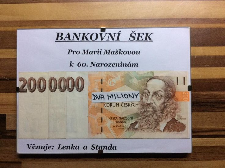 Jak zabalit peníze jako dárek