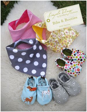 Bibs and booties pattern