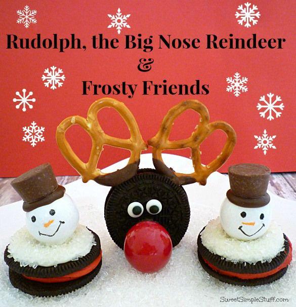 Rudolph grote neus rendieren ijzige vrienden