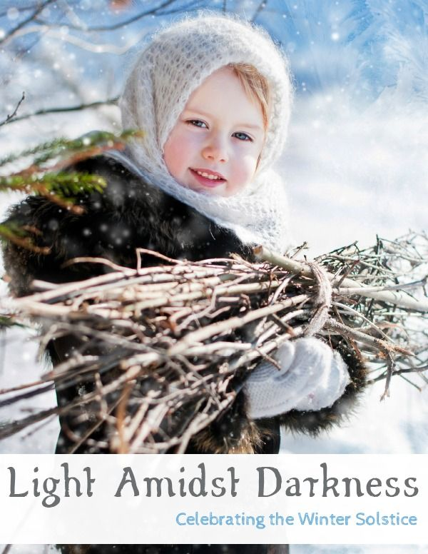 Celebrating the Winter Solstice. -Green child magazine. A few articles with great ideas.