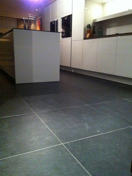 Leisteen Black berry vloer 60 x 60 cm