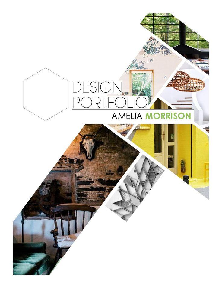 design book ebook interior or layout design portfolio layoutportfolio ideasportfolio - Interior Design Portfolio Ideas