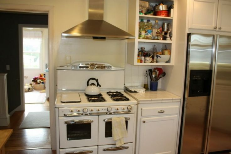 I Am A Huge Fan Of Vintage Stoves Mixed In With Modern