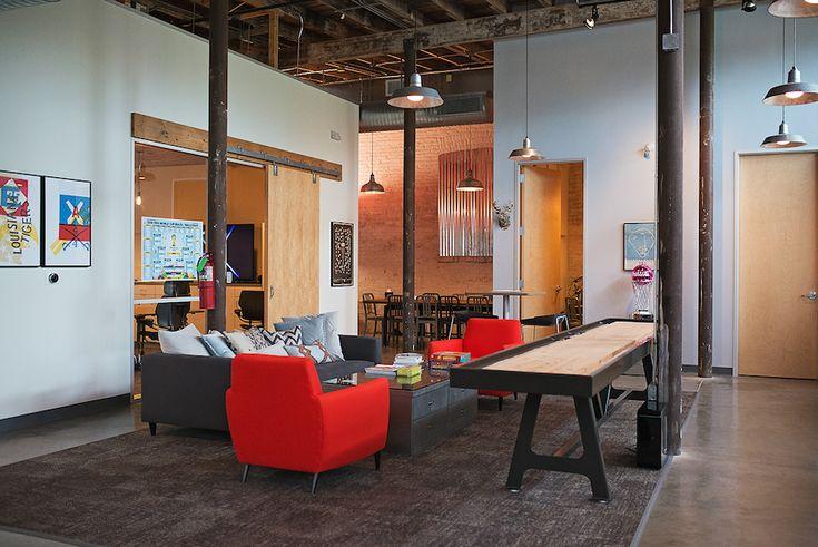 Common room at Happy Cog, UX agency