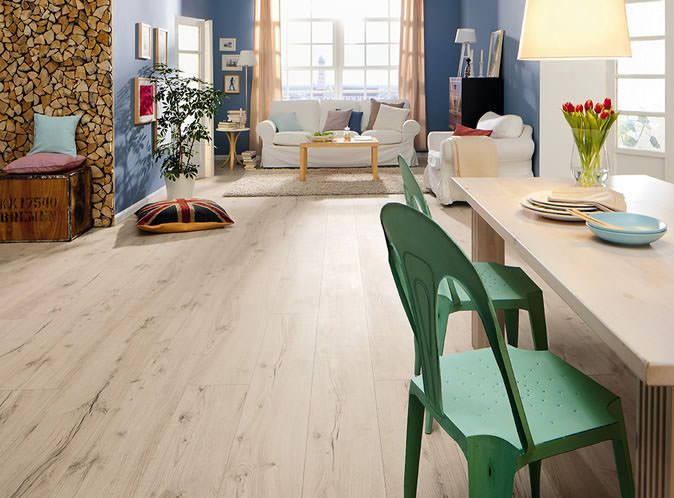 Die besten 25+ Weißer Laminatboden Ideen auf Pinterest - Laminat Grau Wohnzimmer