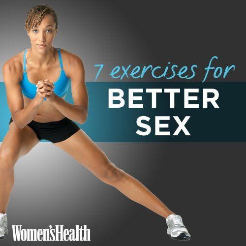 7 Exercises for Better Sex   Women's Health Magazine