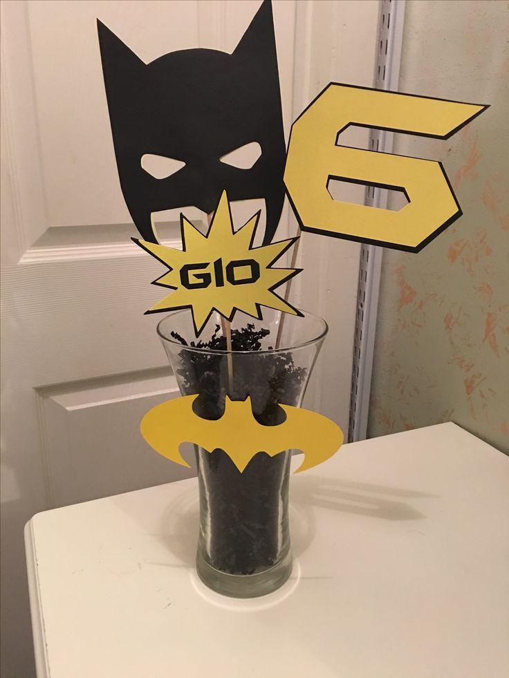 Best 25 Batman Party Centerpieces Ideas On Pinterest