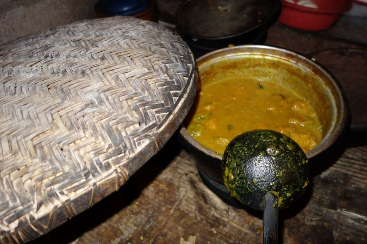 Pumpkin curry - Sri Lanka - authentic Sri Lankan recipe from a Sri Lankan village (source: my personnal food and travel blog / vlog with recipes, authentic video recipes, street food, food and travel documentary, travel info and more. Welcome! :) )