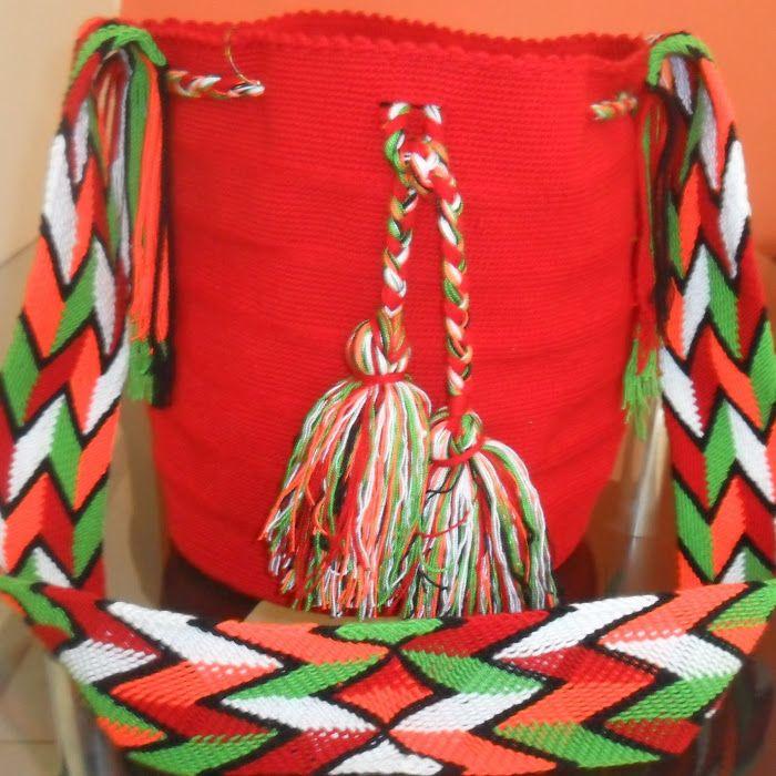 Mochilas wayuu por ARTE GUAJIRO