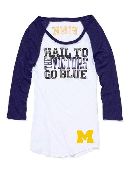 University of Michigan Baseball Tee.