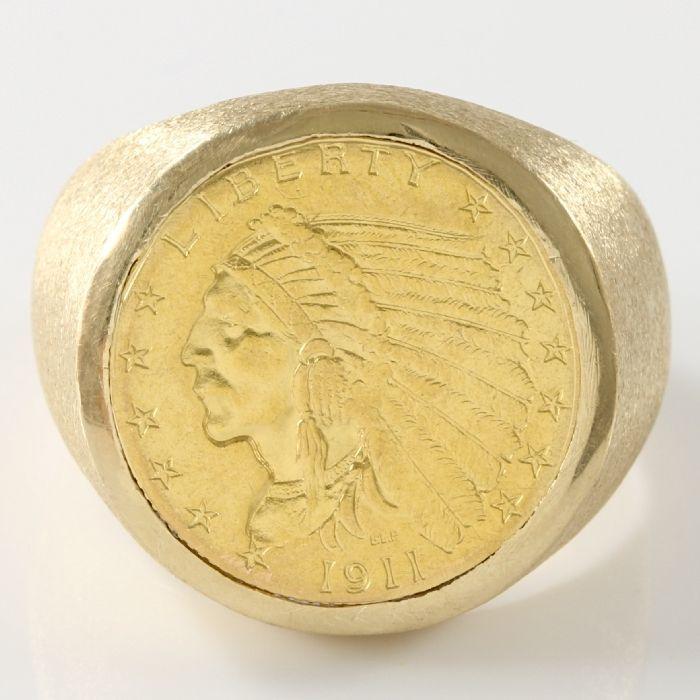 Heren Estate geelgoud 18 mm ring met echte munt  Metaal:18kt Yellow Gold22kt geel gouden echte 18mm munt met een Indian Head van $2.50Het gewicht van het object: 188 gramRing van grootte: 10 - T-1/2Stock: 1060016544CTW4434Item zal het schip in een doos van de gift zorgvuldig verpakt en verzonden  aangetekende zending uit de Verenigde StatenHoud er rekening mee dat:Als gevolg van de waarborg Registered Mail kan het 10-14 dagen duren voor uw zending aan te komen op de plaats van…