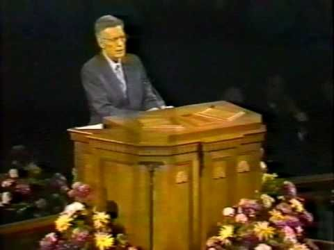 Powerful Final Testimony of An Apostle & Disciple of the Lord, Jesus Christ.... This Apostle passed on a few days after this testimony was given! The Purifying Power of Gethsemane - Elder Bruce R. McConkie - WisdomShare.com