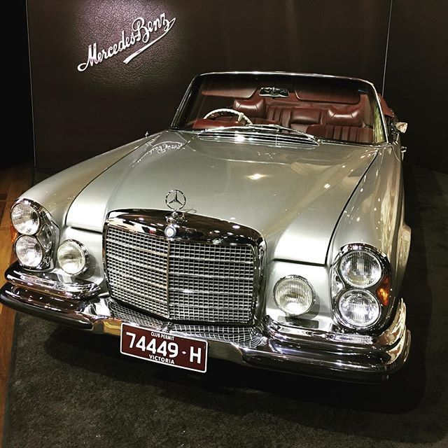 The Mercedes Benz 280SE 3.5 unrestored. #w111 #mercedesbenz #280se #classiccars #motorclassica
