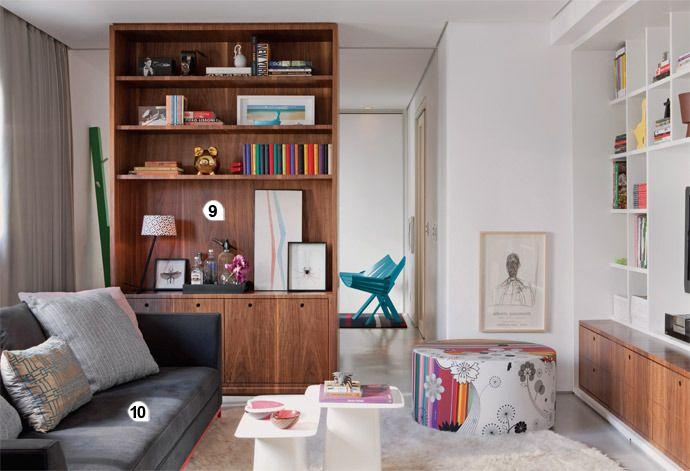 Selecionamos 30 estantes poderosas para você se inspirar na hora de decorar sua casa. Confira nesta galeria!