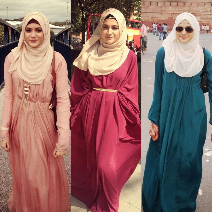 Casual Simple Abaya Cuts ❤ hijab style