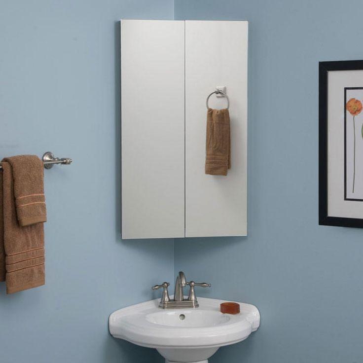 corner medicine cabinet on pinterest corner sink bathroom corner