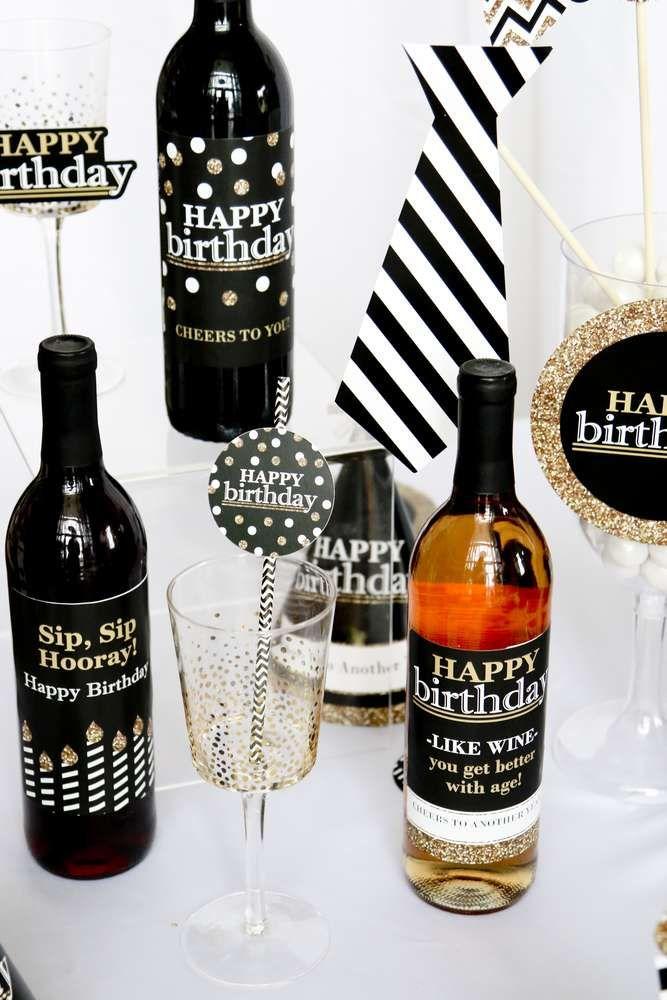 Gold Birthday Party Ideas Birthday Party Themes Happy Birthday