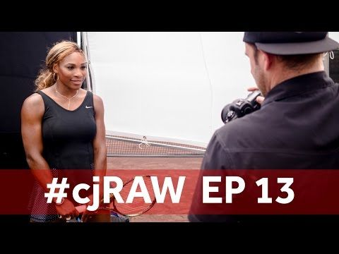 Serena Williams + Roger Federer PHOTO SHOOT   ChaseJarvis RAW Episode 13 - YouTube