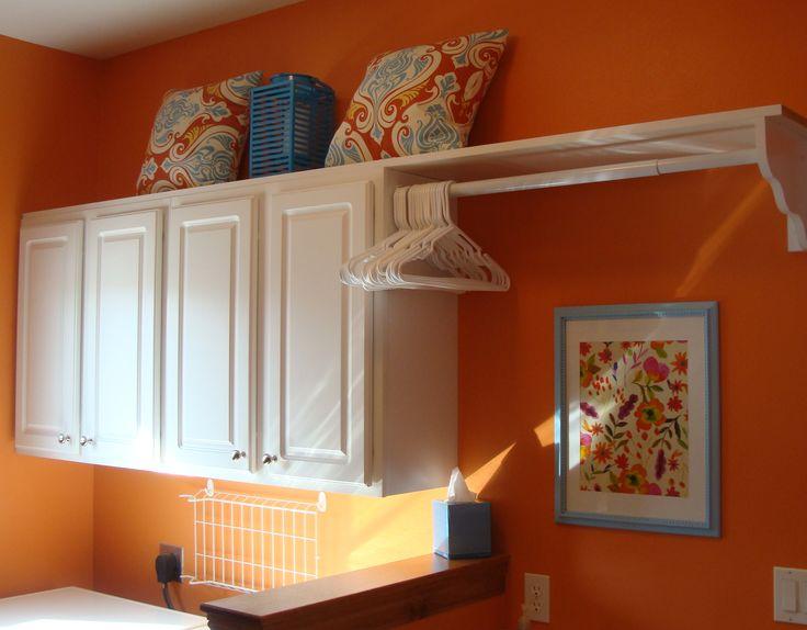 Best 25+ Orange Laundry Rooms Ideas On Pinterest