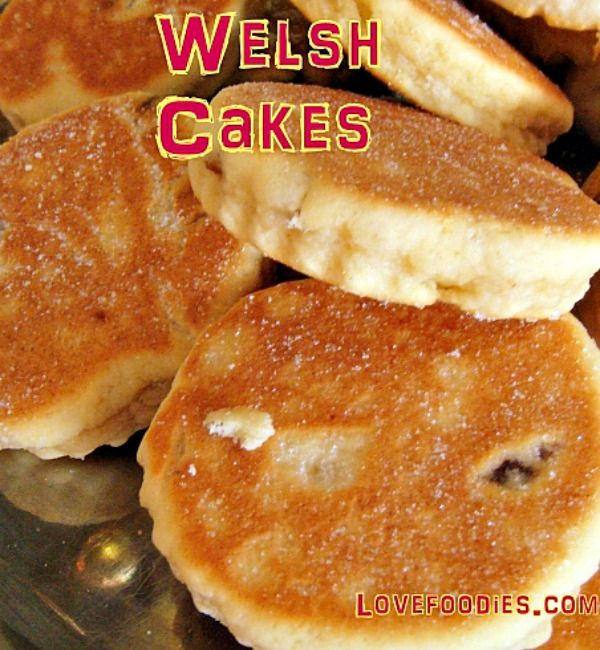 Welsh Cakes - An old family recipe, traditionally served warm, simply with a little butter on the tops! Lovefoodies