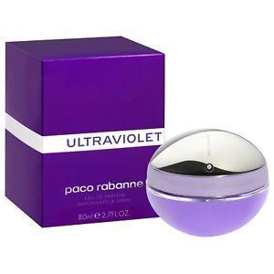 a ultraviolet pour femme paco rabanne eau de parfum 80ml 1 echantillon
