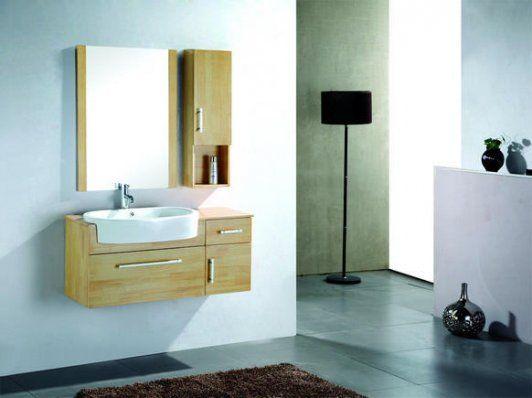 Meuble Salle de bain Veinure (Rangement 1000mm + Armoire 250mm)
