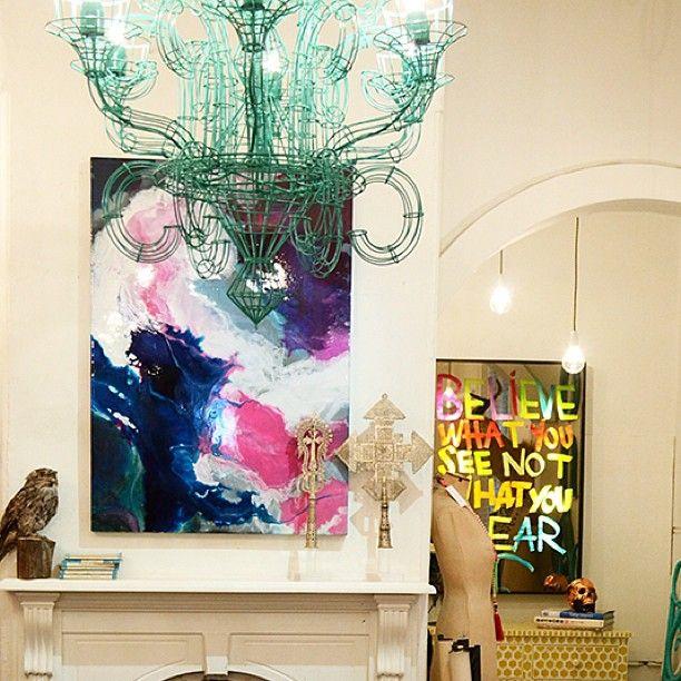Megan Weston 'Lake Victoria' print 85cm x 120cm $2150