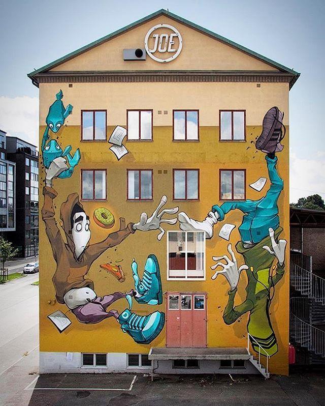Another fine piece from the @artscape_festival by  @q.bless #Lundby #Gothenburg #urbankonst #gatukonst  #streetart #graffiti #art #urban #urbanart #museum #artsy #artistic #mural #arts #wallporn #photooftheday #contemporaryart #picoftheday #instadaily #artwork #arte #artist #spraypaint #tmoua #publicart #outdoorart #graffitiporn #artlife
