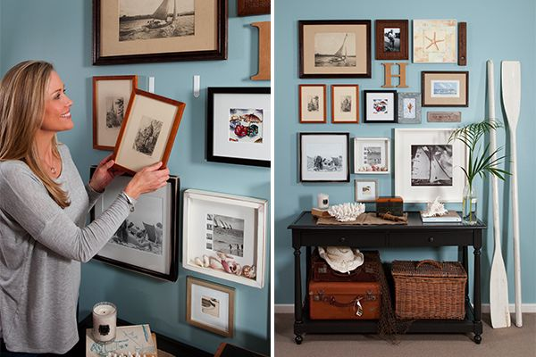 Create this beautiful gallery wall