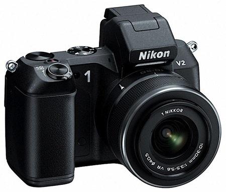 Nikon 1 Manual de V2 mirrorless Lente Intercambiável usuário da câmera digital (Instrução proprietários)